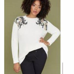 Lane Bryant Sequin Sweater NWT